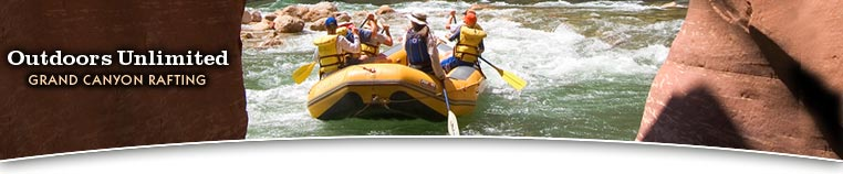 Grand Canyon Rafting with Outdoors Unlimited