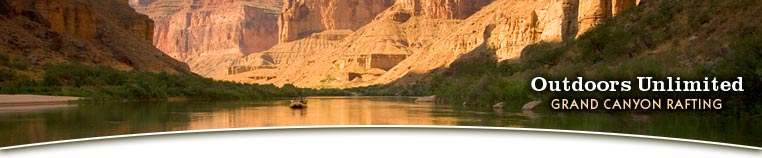 Rafting the Grand Canyon with Outdoors Unlimited